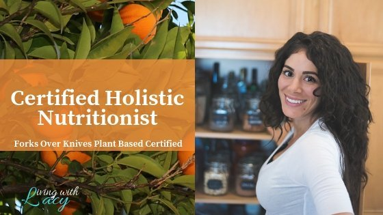 Certified Holistic Nutritionisht